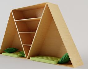 3D Shelf with Cosy Corner