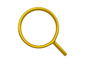 3D model Search Symbol v1 008