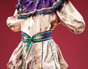 3D model Gipsy Dress