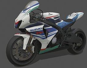 Suzuki GSX-R1000 3D model realtime