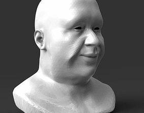 Detailed head 2 3D print model