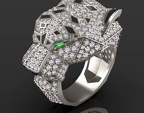 ring female diamond 3D printable model