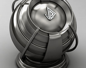 3D model VRAY SHADER---METAL---Plutonium