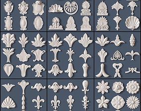 cornce Architectural kit bash 3D model
