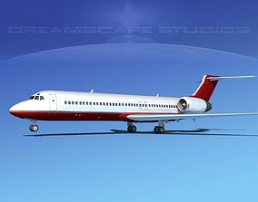 3D Boeing 717-200 Corporate 1