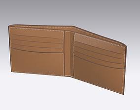 Leather wallet 3D print model