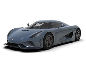 koenigsegg regera Supercar 3D asset