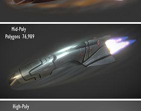Spaceship Keeper Package 3D asset