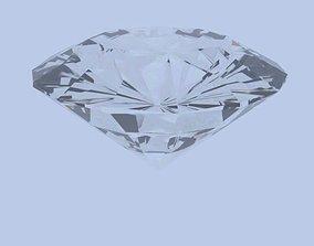3D model Low poly Diamond