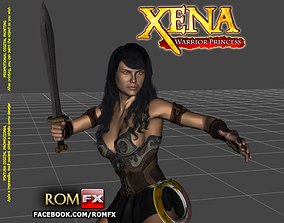 Xena Warrior Princess - Figure Printable