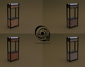 Trade stand 20 4in1 R - 4 PBR Texture 1 Model realtime