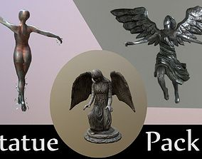game-ready Statue Pack 3 in 1 Promo PRICE 3D
