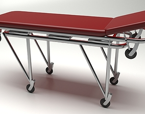 Ambulance Stretcher 3D