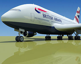 Texture of British Airlines 3D