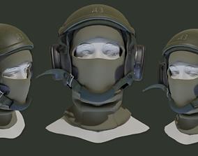Russian CVC Helmet 3D model