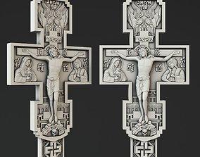 Crucifix 3D print model pendants