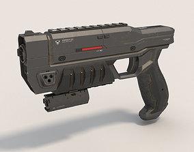 3D model war Sci-Fi Blaster