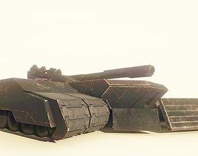 Codename Trident - A Sci Fi battletank 3D model