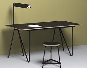 T22 Writing desk 3D model