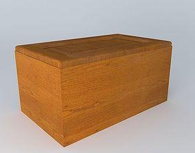 3D model Kitchen Red Fair Cabinet kitchen