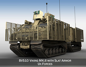BVS10 Viking MKII - UK Forces 3D model