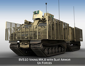 BVS10 Viking MKII - UK Forces 3D model