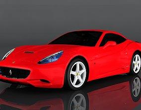 3D asset Ferrari California
