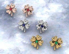 3D printable model Clover Women earrings
