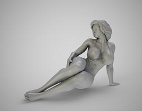 Girl in the Window 2 3D print model