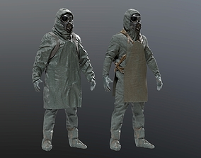 3D model Chernobyl Liquidator Suit