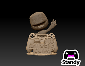3D print model LITTLE BIG PLANET PS4- PS5 CONTROLLER STAND