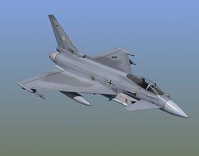3D model Typhoon Fighter