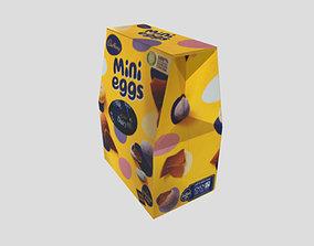Easter Egg Mini Egg Box 3D Low Poly Free