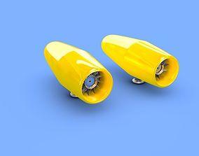 3D model jet car rotor LOLA T70 1976