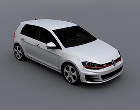 Volkswagen Golf GTI 2015 3D