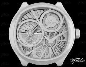 Watch mechanism 20 no textures 3D model