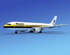 Airbus A300 Monarch 1 3D
