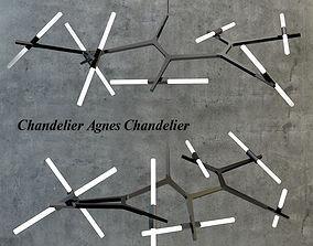 chandelier 3D model Chandelier Agnes Chandelier