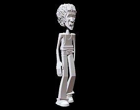 3D print model hippy Hippy