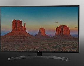 3D model LG UHD HDR SMART LED TV