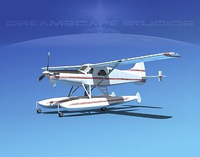 3D DeHavilland DHC-2 Turbo Beaver V03