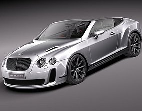 3D Bentley Continental Supersports Convertible 2011