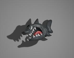 3D printable model Angry Shark