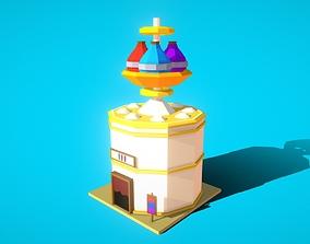 3D asset HIE Potion Shop N1