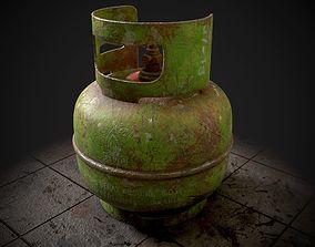 3D Gas Tank Elpiji 3kg