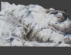 3D model Makalu Mountain