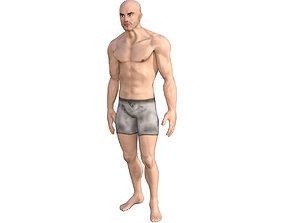 Human Base Male Character 3D model