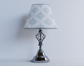 3D Chrome Effect Swirl Table Lamp