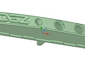 Ram 2500 Center Dash Control Panel 3D print model