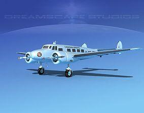 3D model Lockheed L10 Electra Canadian